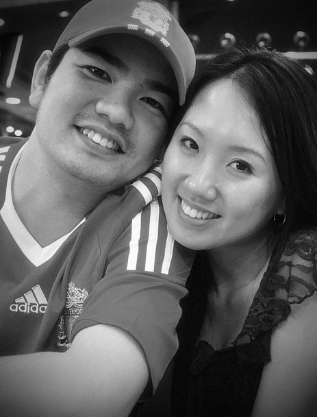 or can i say Mr. & Mrs Yip? see u two October!! :-) can't wait.....