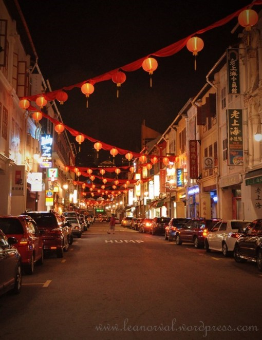 u i will know this is a china street if there are red lantern everywhere...