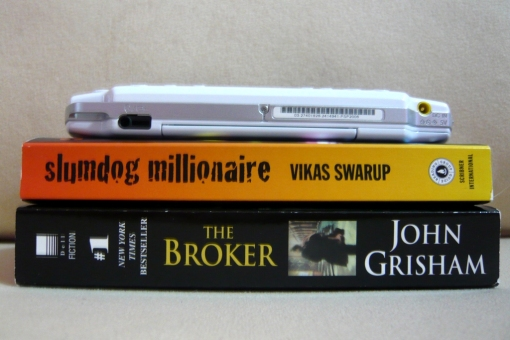another collection of John Grisham and one by Vikas Swarup, the oscar award winner 'Slumdog Millionaire' author!!