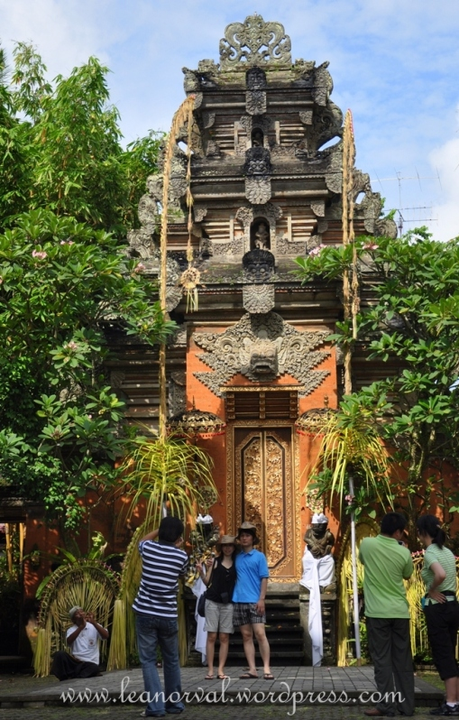 ancient building in Ubud.