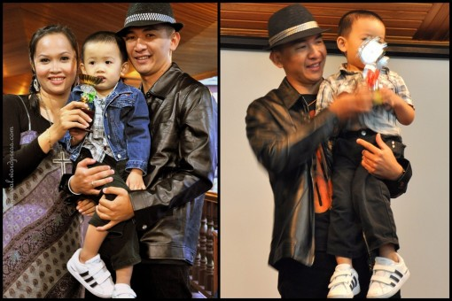 The Davis! right: Davis and Paran receiving Anugerah Altar Paling Cool 2009