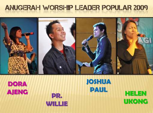 The Most Popular Worship Leader 2009 Award nominees