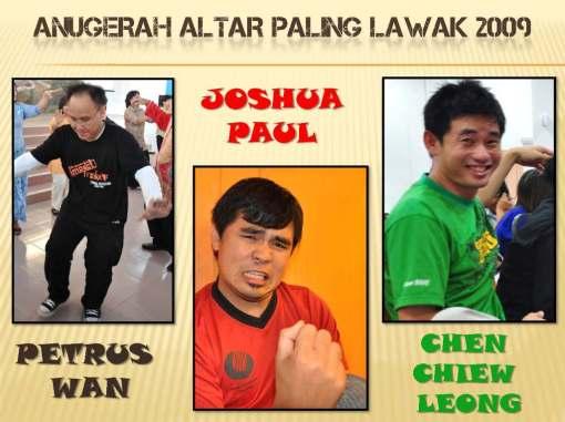 Anugerah Altar Paling Lawak 2009! haha!!