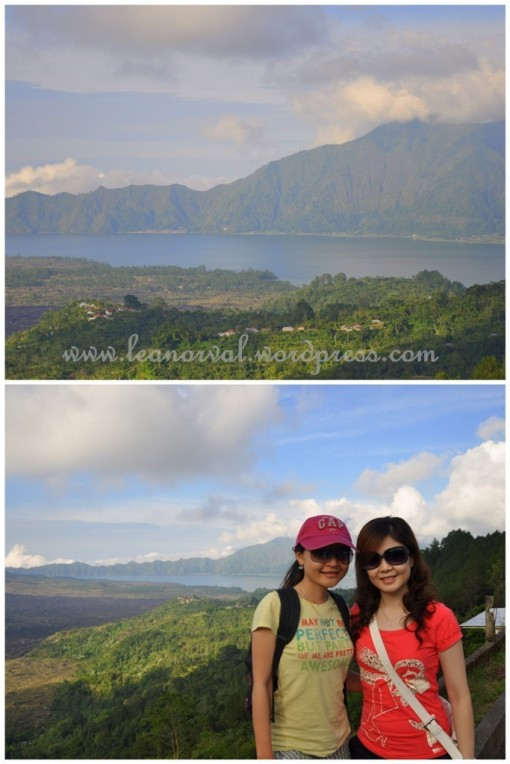 top: the lake near the volcano, we drove half way down but at some point it got really secluded so we returned back   bottom: we didnt wanna miss a photo with it :p