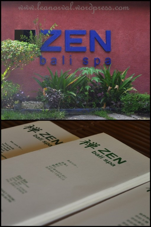 ZEN SPA.... highly recommended! :-)