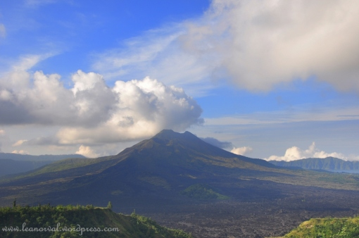 Mount Batur the gorgeous volcano, at least an achievement :-)