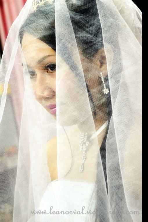 a brides's moment.....