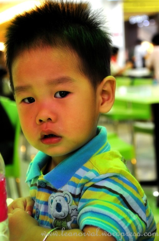 Pick hiong's nephew. forgot his name but isnt he a serious kid? why?!